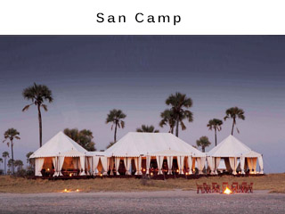 San Camp Botswana Wildlife Vacation Package