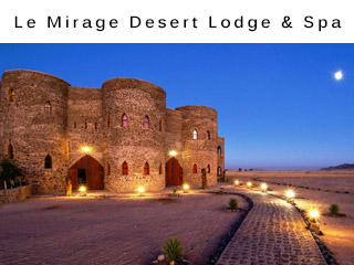 Le Mirage Desert Lodge and Spa Wildlife Vacation Namibia